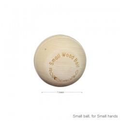7 CM WOOD BALL